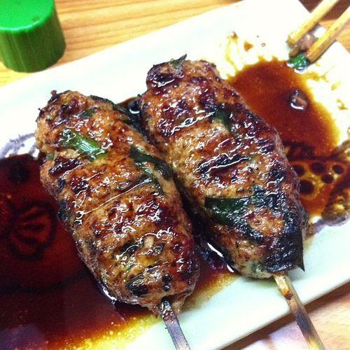 今日の我が家の晩ご飯シリーズMikaboon Dinnerつくね めっちゃ美味い!