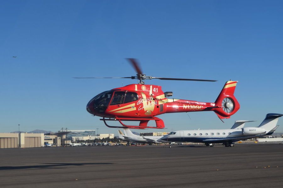 Airport Fly Flying Helicopter Hovering Las Vegas Off The Ground Vegas  Let's Go. Together.