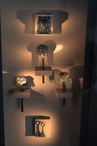 Celtic objects Ancient Civilization ArtWork Celts Craftsmanship  Decoration Excavations Exhibition Illuminated Museum No People