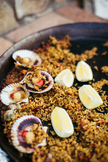 Paella Close-up Day Food Food And Drink Freshness Healthy Eating Indoors  No People Ready-to-eat