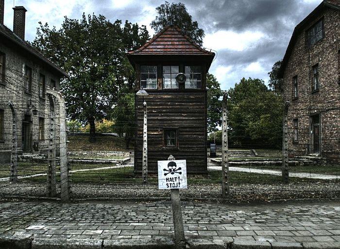 No People Architecture Outdoors Campo Di Concentramento Concentrationcamp Genocide German Worl War Jews Ss Polska Poland Memorialday Memorial NAZI Nazism Aushwitz Residence Aushwitz Rail Transportation Memorial Day