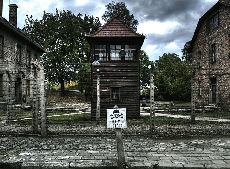 No People Architecture Outdoors Campo Di Concentramento Concentrationcamp Genocide German Worl War Jews Ss Polska Poland Memorialday Memorial NAZI Nazism Aushwitz Residence Aushwitz Rail Transportation Memorial Day