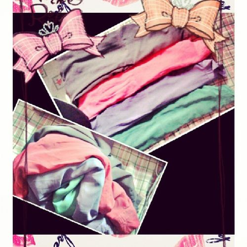 Beloved haleys in brown pink lilac n mint. ♡♡♡ Thepoplook