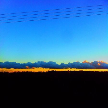 The prettiest sights are a simple turn of the head away... Clouds Colour Vibrance Landscape Sky FX Edited Epic