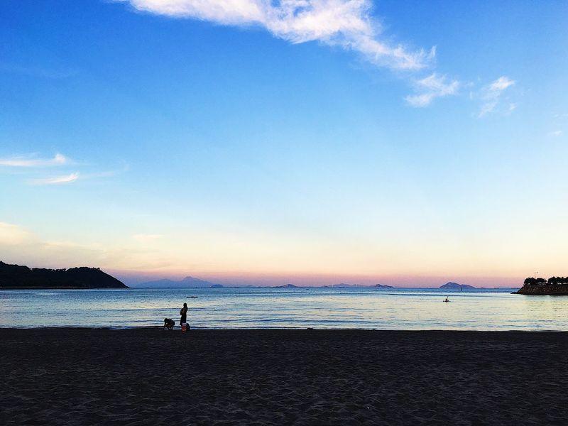 beach in Macao Beach Sea Sky Sand Sunset Vacations EyeEmNewHere