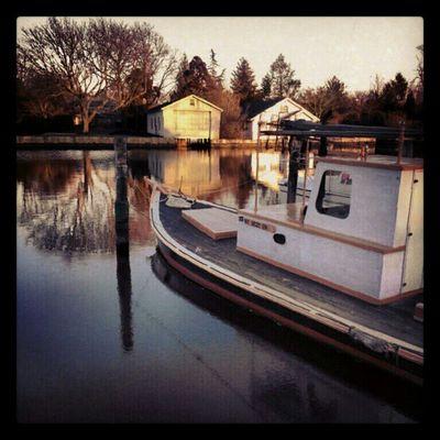 Boat Reflections Dailywalk DailyShot Dock Longislandinstagram Instagram Igaddicts Instamood Instafind Instaphoto