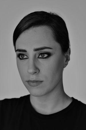 #Light & Shadow #makeup #model #photography #portrait #portraitphotography #womanportrait Beauty Blackandwhite Indoors  Studio Shot Young Women