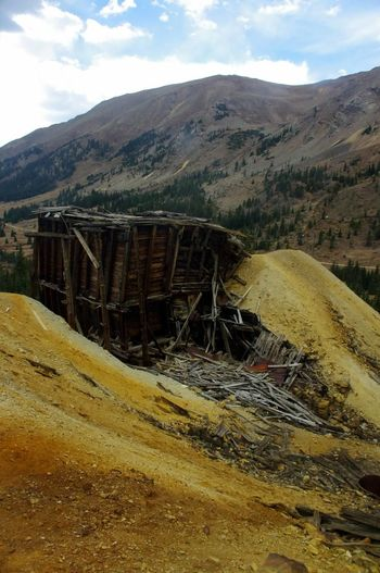 Landscape Outdoors Ghosttowns Mining Colorado Colorado Photography Mining Heritage Mining History Of America Abandoned