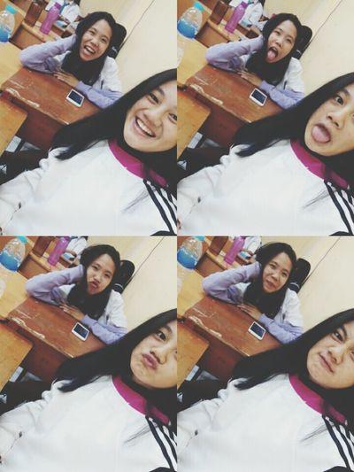 W/ ma babe😘😘 Friendship Bff❤ Bestfriend Highschool