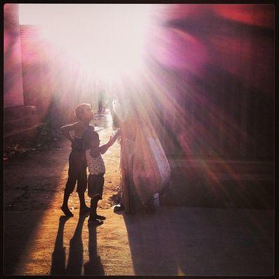 Street Sun Ray Shadow Vendor Child Children Chaktai Chittagong Instagram