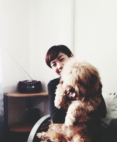 Giving Bella some Hugs Cuddleweather Dogs Lhasa Apso