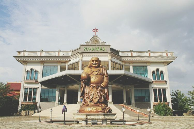 Vihara Vihara Khatulistiwa Oriental Pontianak Budha Etnies Thionghoa