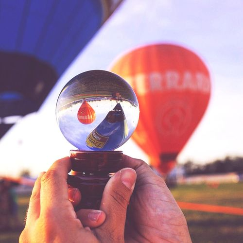 Baloon mongolfiere sfera magic sottosopra upandown