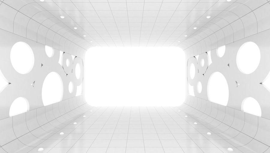 Interior Of Illuminated Room