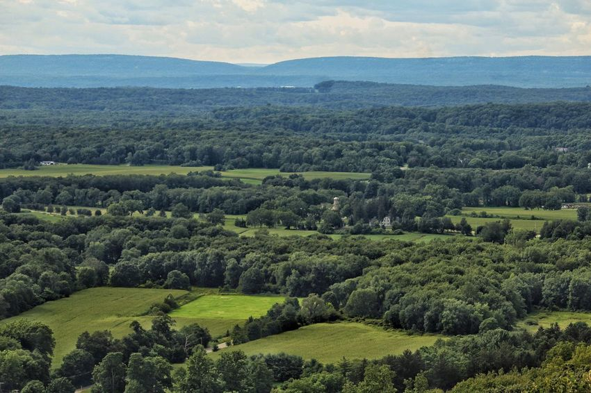 Beauty In Nature Landscape Scenics Farmland New Jersey Mountain Shades Of Green  Rural Scene Trees Fields