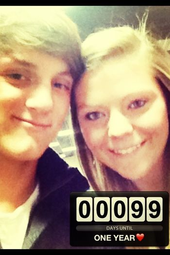 Under A 100 Days Till A Year. Love U
