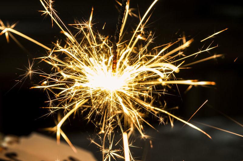 Celebration Firework Firework Display Fireworks Motion Night No People Party - Social Event Sparkler Sparks