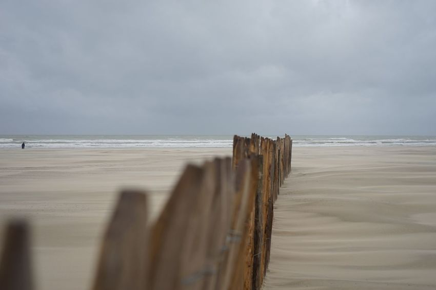 The KIOMI Collection Berck Plage windy day