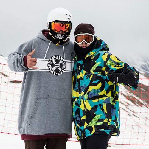 Snow ❄ Snowboard France Lesdeuxalpes happy day !