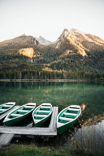 Boats And Water