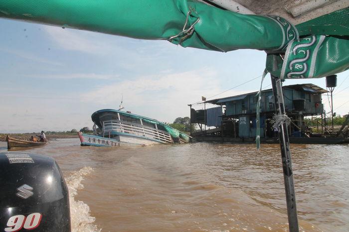 Amazonas Amazonas River Nature Colombia ♥  Downfall Houseboat River Ship