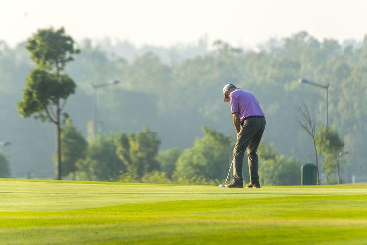 Golfing Golf