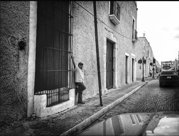 Mexico Traveling Black & White Street Photography