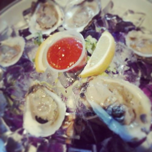 Tried oysters for the first time ♥ they were okay