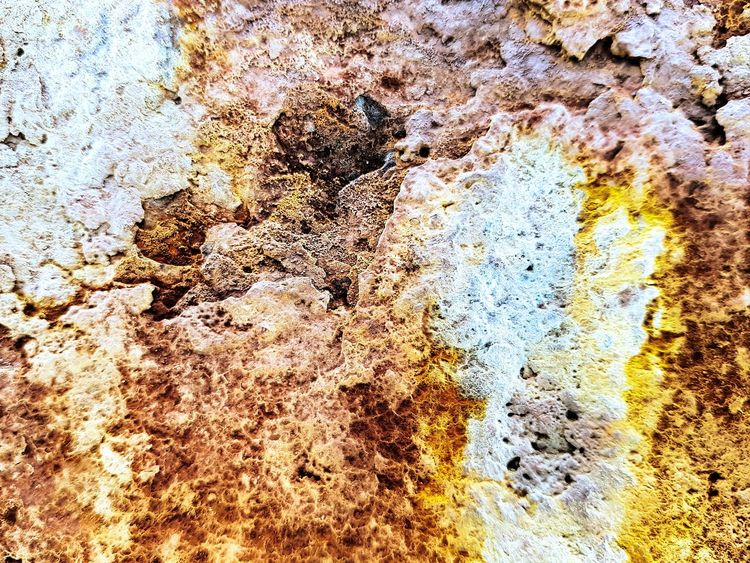 Løkken, Strand Abstract Photography Rust Rusty Metal Weathered Taking Photos Taking Pictures The Week on EyeEm Timepaint72 Backgrounds Full Frame Textured  Abstract Pattern Close-up Day No People Outdoors Multi Colored Oil Spill
