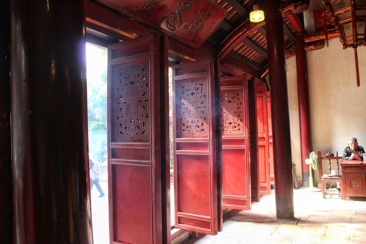 Temple Entrance Door Temple AsianArchitecture Architecture
