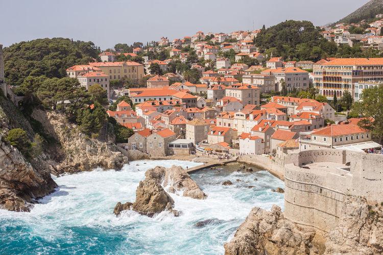 Buildings by sea