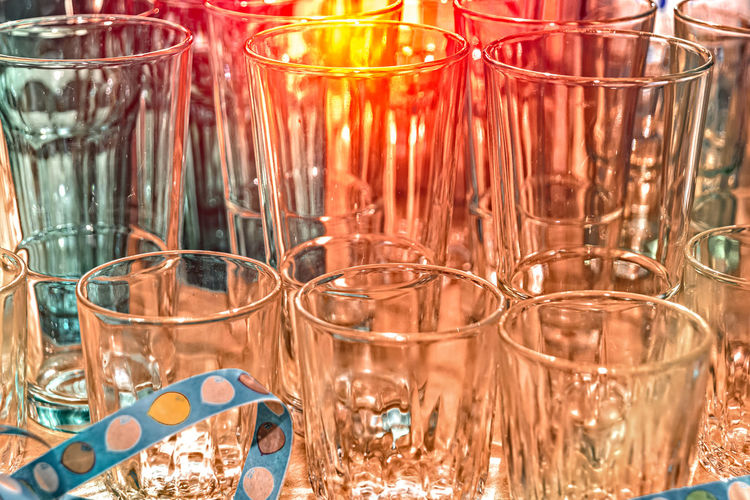 Various glasses