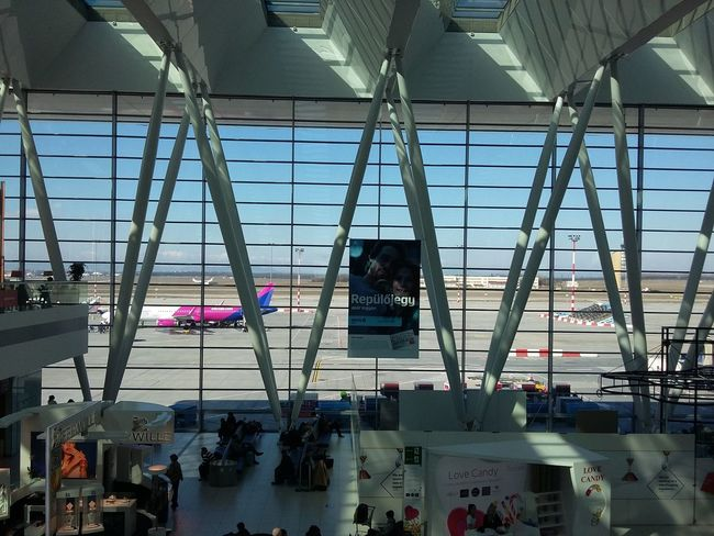 Today :) Budapestairport Air Plane Airport Hello World