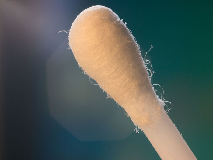 Close-Up Of Cotton Swab