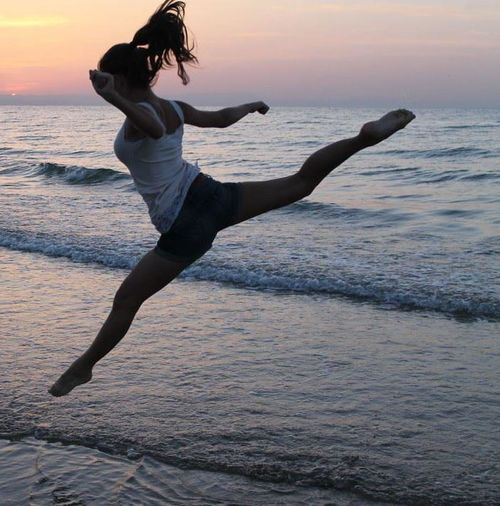 DANCE ♥ Missthis Me Seaside #remember #jump!you can touch the sky!