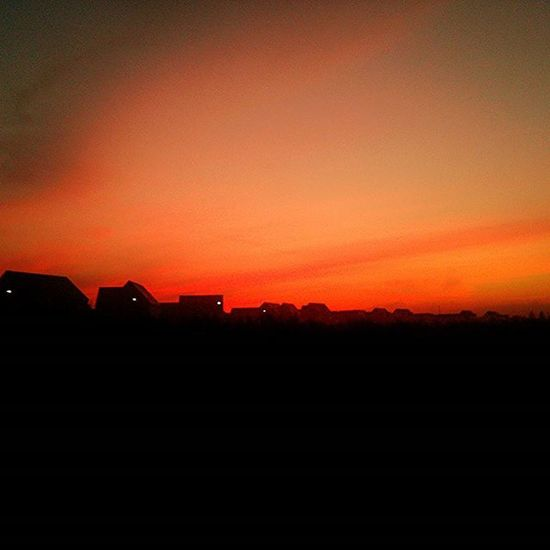 Good morning Brooklands. Miltonkeynes Brooklands Morning Sunrise Red Orange Newbeginnings Dharmaimages The Great Outdoors With Adobe