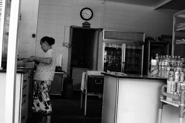 ESJ 2005 - 2015. The old Pulau Ubin. Original Islanders Cafe Islanders Singapore Pulauubin Insel Village Islanders