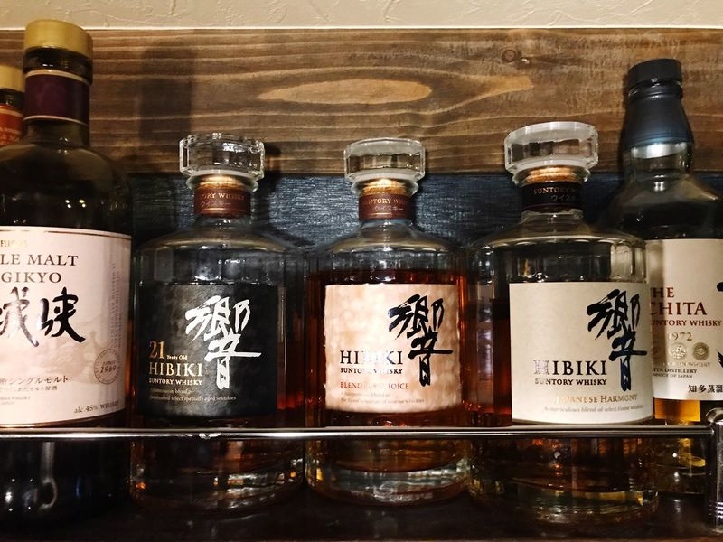 Suntory HIBIKI Indoors  Container Choice Variation Side By Side Healthcare And Medicine EyeEmNewHere Glass - Material Food And Drink No People Bottle Close-up Medicine