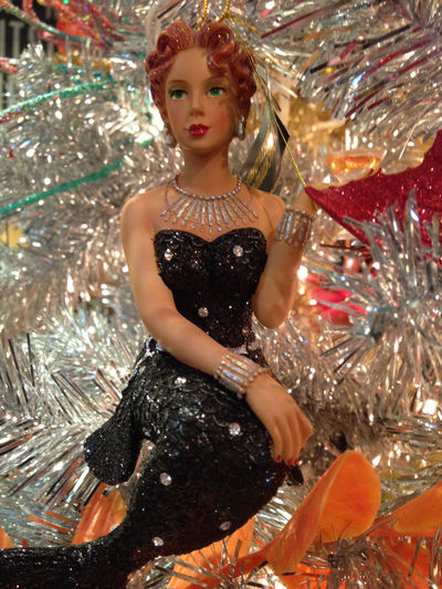 Human Representation Mermaid Ornament