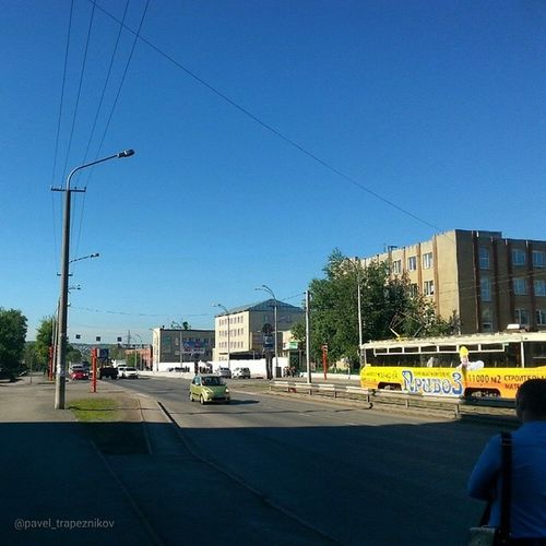 20140613 , Кемерово . КузнецкийПроспект в верхней части/ Kemerovo. Kuznetsky Prospectus in the upper.