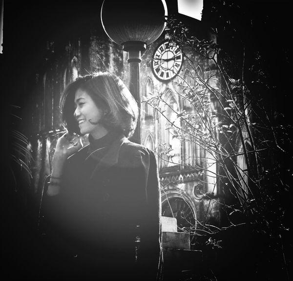 my favourite photo <3 HOANGMY by DAMIEU Black & White Bw_potrait