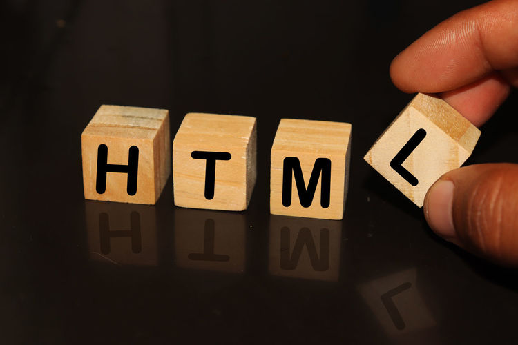 HTML made with