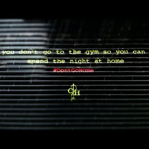 I should go back to the gym. Dontgohome NYC Streetart Graffiti