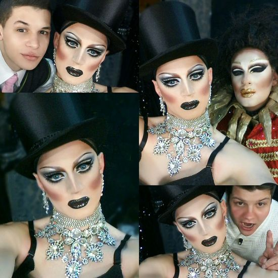 Drag Dragqueen  Enjoying Life Friends Hello World Nightclub Selfie Backstage Divacrystal Makeup www.crystalshow.com.ua