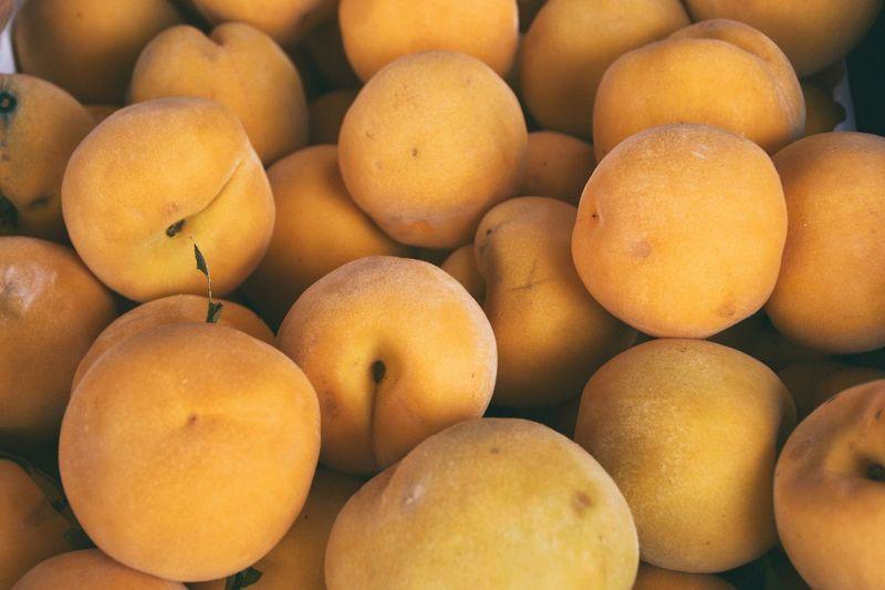 Full Frame Shot Of Peaches