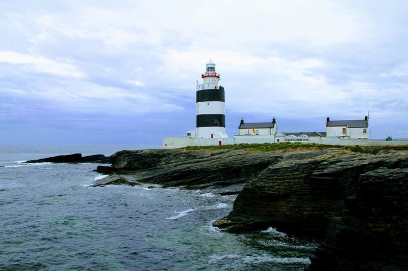 Hook Head, Ireland Ireland Lighthouse Building Exterior Built Structure Hook Lighthouse Lighthouse No People Water