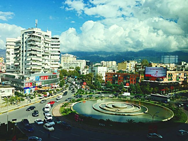 Tirana Tirana Albania 🇦🇱 City Sky Day Road Skyscraper No People Architecture Building Exterior Built Structure Cloud - Sky Outdoors Cityscape  Shqiperia Shqipe Shqiperi SHQIPTAR 3XSPUnity