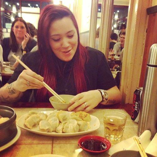 Gimmie all the dumplings Asian  Chinatown City Melbourne Yummy Getinmytummy Lesbian Loveit Instagay Inkedup Lesbianofinstagram Dumplings Tattoosofinstagram Tattoo Chinesedinnerdate 😉😘😁👌