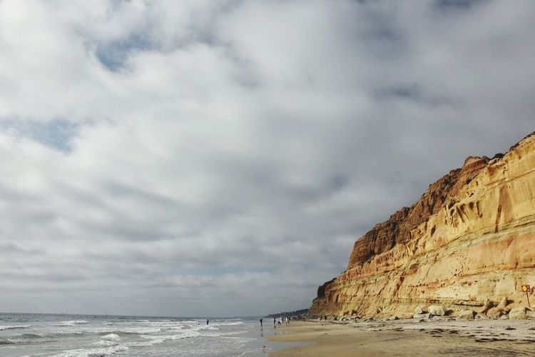 Torrey Pines Sky And Clouds California Pacific Ocean Cali California Coast Torrey Pines Beach