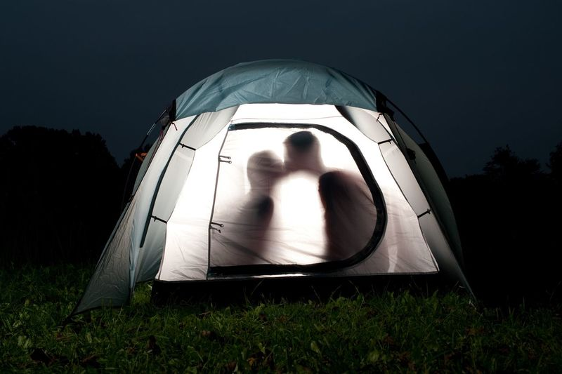 two young people in a tent Romantic Night Romantic Moment Romantic Romantic Scenery Trip Love Tourist Tourism Two People Tent Grass Night Outdoors Men Togetherness Nature Adult People